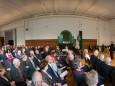 Raiffeissensaal - Ehrenbürgerurkunde der Stadt Mariazell für Altbürgermeister Helmut Pertl, 4. Juni 2014