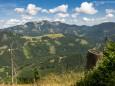 Wanderung auf die Hinteralm (1450 m) ab Frein