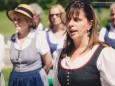 Sabine vom Bodenhof - Höfe-Wanderung am Joachimsberg (28.5.2016)