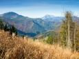 Blick auf Dürrenstein - Hohe(r) Student - Haselspitz Tour im Mariazellerland