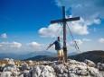 Gipfelkreuz der Hohen Weichsel
