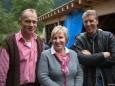 Walter, Susi, Manfred - Vernissage in der Holzwerkstatt Hermann Ofner mit Alma Silbert & Renate Höfer-Wiesinger