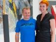 Künstler Othmar Kraft & Katharina Schmiedleitner - Holzwerkstatt Vernissage - Jahresringe & Lebenskreis
