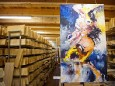 Ausstellung bei der Holzwerkstatt in Halltal