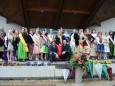 Königliches Festival in Natz-Schabs mit der Mariazellerland Honigkönigin Anna. Foto: Barbara Hollerer