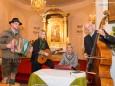 Familienmusik Grössbacher - 1. Hubertusfeier des Hegerings Mitterbach am 7. November 2014