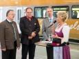 Bürgermeister, Caterer, Produzent - Jungfernfahrt Himmelstreppe Panoramawagen am 27.6.2014