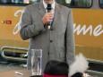 Schweizer Produzent der Himmelstreppe - Jungfernfahrt Himmelstreppe Panoramawagen am 27.6.2014