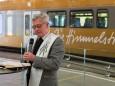 Segnung der Himmelstreppe - Jungfernfahrt Himmelstreppe Panoramawagen am 27.6.2014