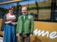 Christine & Peter Kroneis - Jungfernfahrt Himmelstreppe Panoramawagen am 27.6.2014