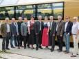 BürgermeisterInnen der Mariazellerbahn-Gemeinden - Jungfernfahrt Himmelstreppe Panoramawagen am 27.6.2014