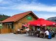Lassingfallstubn in Wienerbruck - Diese Hütte steht nicht mehr - Nun ist dort die ungleich bessere Ötscherbasis
