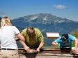 Goldwaschen im Abenteuerland - Im Hintergrund thront der Ötscher