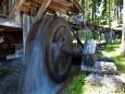 Wasserrad im Holzknechtland