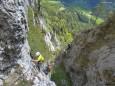 Kletterpark Spielmäuer - Kirchbogensteig. Foto: Walter Egger