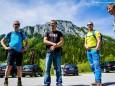 Instruktionen der Bergführer - Kletterpark Spielmäuer mit Wanderweg zum Gipfel und zur Teufelsbrücke