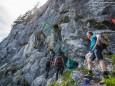 Einstieg Mariazeller Steig - Kletterpark Spielmäuer mit Wanderweg zum Gipfel und zur Teufelsbrücke