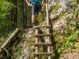 Wanderweg - Kletterpark Spielmäuer mit Wanderweg zum Gipfel und zur Teufelsbrücke