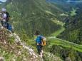 Kletterpark Spielmäuer mit Wanderweg zum Gipfel und zur Teufelsbrücke