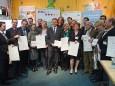 Die Menschen hintern den ausgezeichneten Ideen bei der klima:aktiv Verleihung