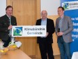 Helmut Schweiger, Bgm. Manfred Seebacher & Fritz Hofer - MUP-Forum Klimastammtisch und Klimabündnis Mariazell
