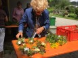 Kräuterbüscherl binden