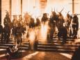 Traditioneller Krampuslauf der Trogerpass am 5. DEzember 2016 in Gußwerk