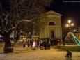 Alles wartet auf die Krampusse - Krampuslauf in Gußwerk - 5.Dezember 2012