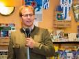 Christian Haagen (Vertreter der Jugendgästehäuser) - Eröffnung der Sportkletteranlage Kraxl Stub'n im JUFA St. Sebastian