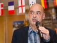 Manfred Wegscheider (Steir. Naturfreunde Vorsitzender) - Eröffnung der Sportkletteranlage Kraxl Stub'n im JUFA St. Sebastian