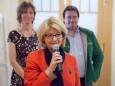 Mag. Elisabeth Hansa - Kunstausstellung im Europeum - Eröffnungstag