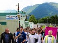 13. Steirische Lehrlingswallfahrt nach Mariazell. Foto: Anna Scherfler