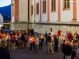 Lichterprozession der Burgenländischen Kroaten in Mariazell am 27. August 2016