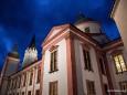 Mariazeller Basilika - Lichterprozession der burgenländischen Kroaten in Mariazell