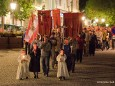 Lichterprozession der burgenländischen Kroaten in Mariazell