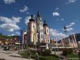 1. Mai 2012 - Maibaum aufstellen in Mariazell. Foto: Fritz Zimmerl