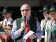 1. Mai 2012 - Maibaum aufstellen in Mariazell - Bürgermeister Josef Kuss