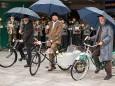 Maibaumaufstellen in Mariazell 2011 - Motor Veteranen Club Mariazell