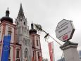 Maibaumaufstellen in Mariazell 2011