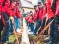 1. Mai 2016 – Traditionelles Maibaumaufstellen in Mariazell