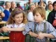 Maibaumumschneiden und 15 Jahre Schulverkehrsgarten - Geselliger Abend in St. Sebastian am 29. August 2014
