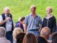 Ehrung für Fam. Potzgruber - Maibaumumschneiden und 15 Jahre Schulverkehrsgarten - Geselliger Abend in St. Sebastian am 29. August 2014