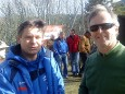 Alfred Grabner (Volksbank) und Rudi Huber (Sägewerk Kaml & Huber)