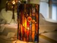 Glaskunst Ella Heidvogel - Maria Lichtmess Feier in Halltal am 2. Februar 2016
