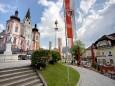 Basilika und Apotheke in Mariazell