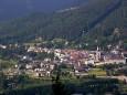 Blick auf Mariazell von der Sauwand im Süden