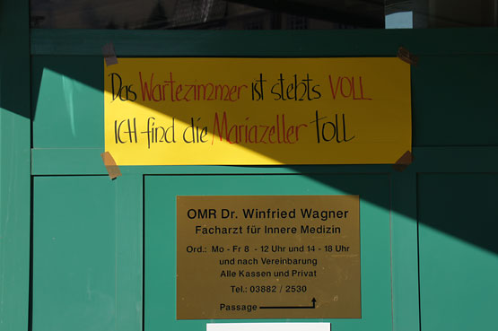 Dr. Wagner - Mariazeller Faschingssprüche 2011