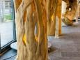 Mariazeller Kunstblicke 2013 - Baum-Design von Harlad Haberbauer in der Arche des Waldes