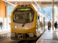 Abfahrt nach Mariazell - Tag der Mariazellerbahn in Laubenbachmühle am 16.11.2014