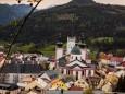 Blick auf die Basilika am 15. Mai 2021